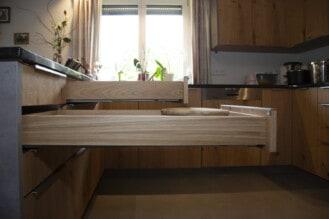 Schreinerküche im Stil