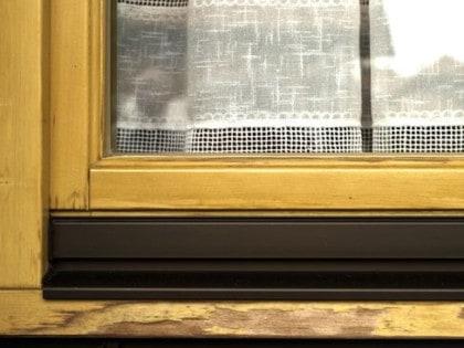 Fensterreparatur vorher