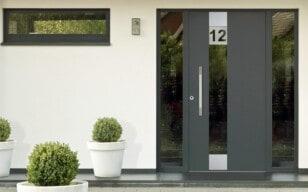 Holz-Aluminium-Haustür